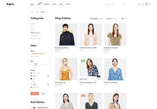 Shop With Sidebar