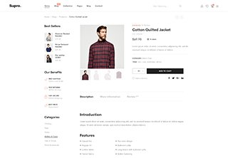 Product With Sidebar